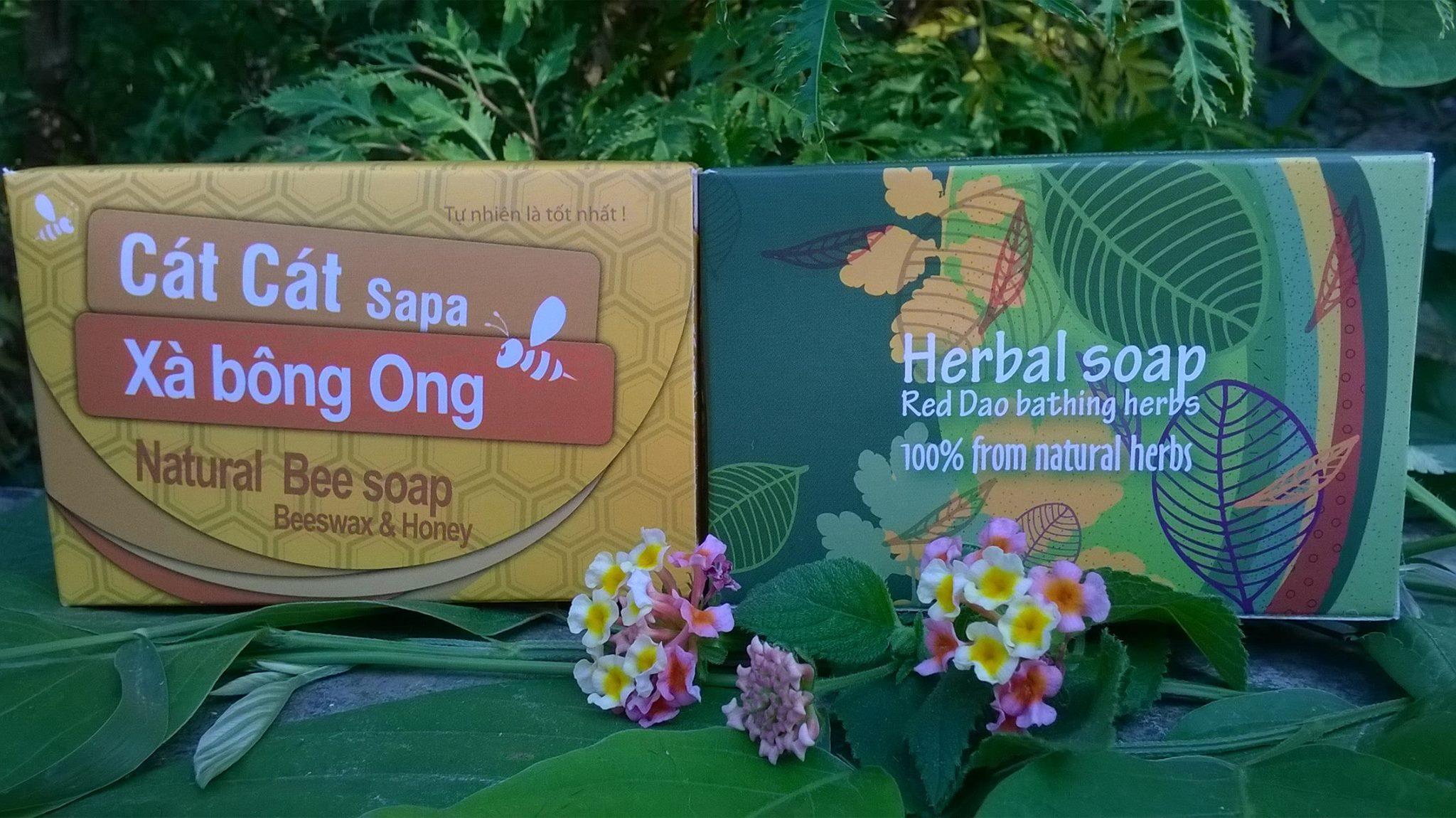 Xà bông ong và xà bông thảo dược