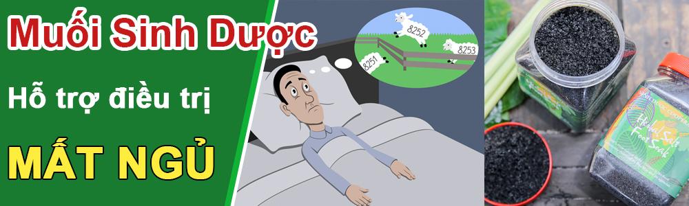 muối sinh dược trị đau khớp, mất ngủ
