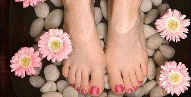 Muối ngâm chân thảo dược